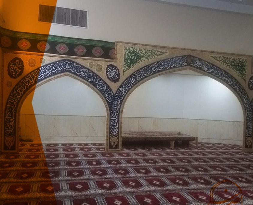دکوراسیون سنتی مساجد نمازخانه
