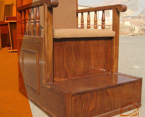 فروش منبر چوبی منبر یک پله منبر چند پله