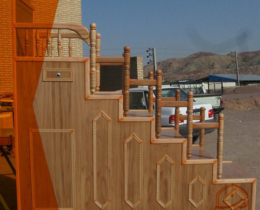 منبر چوبی منبر یک پله منبر چند پله