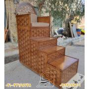 تولید کننده انواع منبرهای تمام چوب
